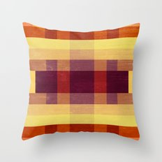 Autumn Winds Abstract  Throw Pillow