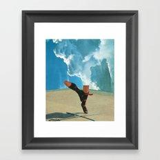 Cloud Dance Framed Art Print