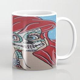 Ariel Sugar Skull 2 Coffee Mug
