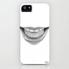 Malizia / Malice - Naughty Lips - Mouth iPhone Case