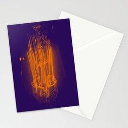 Purple Light Stationery Cards