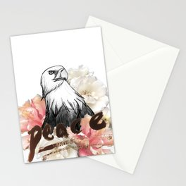 Peace Wreath Stationery Cards