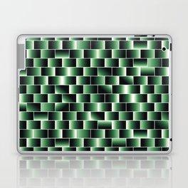 Green set of tiles - movie style Laptop & iPad Skin