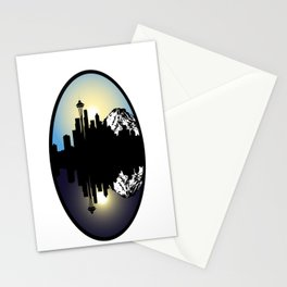 Two Sides to a Coin Stationery Cards