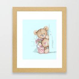 Teddy Boy Framed Art Print