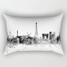 Paris France Skyline Rectangular Pillow