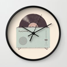 High Fidelity Toaster Wall Clock