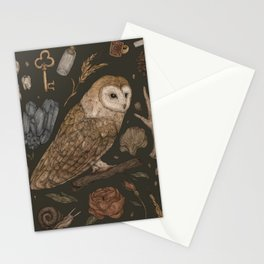 Harvest Owl Stationery Cards