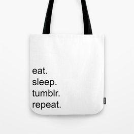 Tumblr. Tote Bag