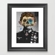War Collage 2 Framed Art Print