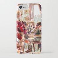 les mis iPhone & iPod Cases featuring les miserábles: atelier visit by Daniela Viçoso