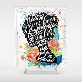 Persuasion - So Beloved Shower Curtain