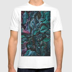 Grain and Flow MEDIUM Mens Fitted Tee White