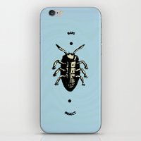 bug iPhone & iPod Skins featuring Bug by Bili Kribbs