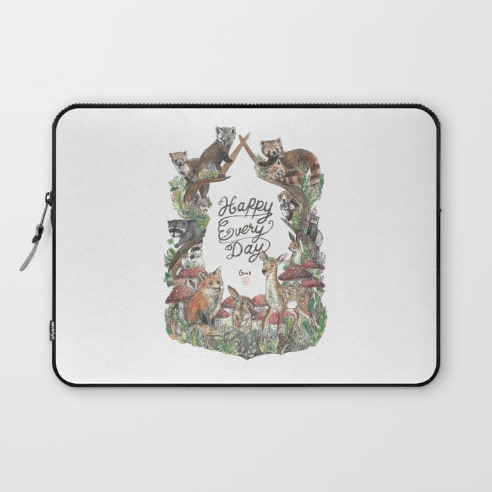 Happy Every Day! Laptop Sleeve