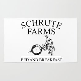 Schrute Farms Bed and Breakfast Rug