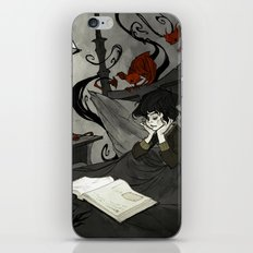 All Hallows Read iPhone Skin