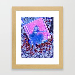 Ghost Woman Framed Art Print
