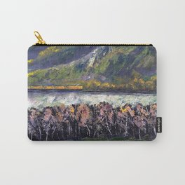 The Train Whistle Echos in Glenwood Canyon Carry-All Pouch