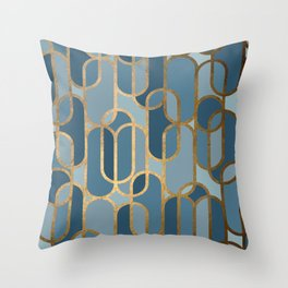 Art Deco Graphic No. 167 Throw Pillow