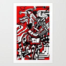 ducktism Art Print