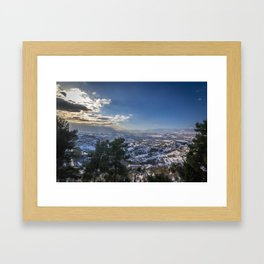 South-West Framed Art Print
