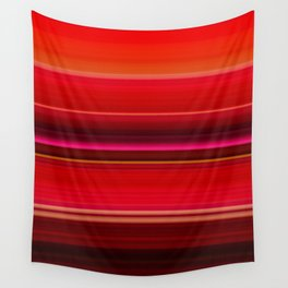 Red Leaf Plant Wall Tapestry