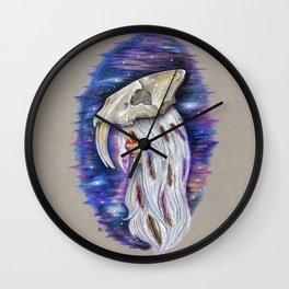 """""""Saber-toothed Princess"""" Wall Clock"""
