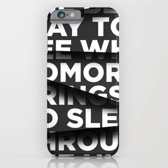 Sleep Through The Night iPhone & iPod Case