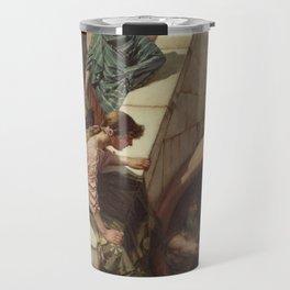 Diogenes by John William Waterhouse Travel Mug