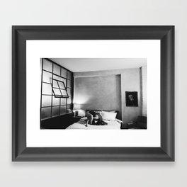 bent out of shape 3 Framed Art Print