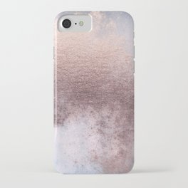 Princess Retro Rose Gold Blush iPhone Case