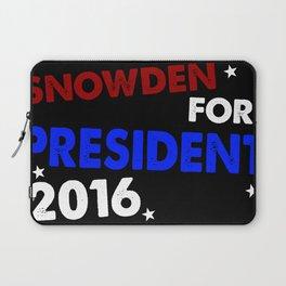 Snowden For President 2016 Laptop Sleeve