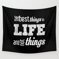 quotes Wall Tapestries featuring Life Quotes by Silvia Marquez