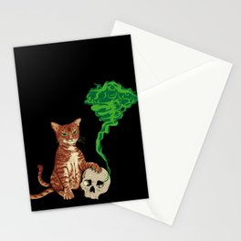 Nekomata cat Stationery Cards