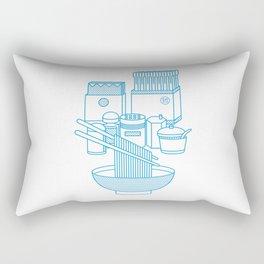 Ramen Set Rectangular Pillow
