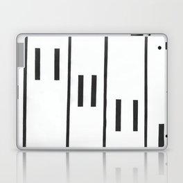 Falling Piano Keys Laptop & iPad Skin