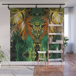 Jungle Heart Wall Mural