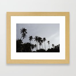 Beach don't kill my vibe Framed Art Print