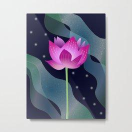 Star Lotus Metal Print