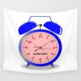 Oval Alarm Clock Wall Tapestry