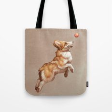 Catch the ball Tote Bag