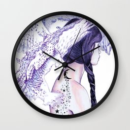 Ghost Of The North Wall Clock