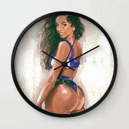 Brittany Renner Wall Clock