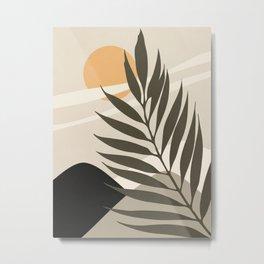 ABSTRACT ART - TROPICAL 07 Metal Print