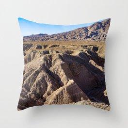 View towards Granite Mountain in the Anza Borrego Desert State Park, California, USA Throw Pillow