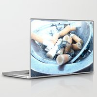 cigarettes Laptop & iPad Skins featuring Cigarettes by Beatrice
