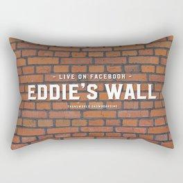 Eddie's Wall Rectangular Pillow