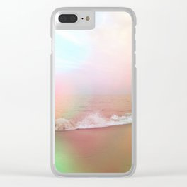 Waves of Imagination Clear iPhone Case