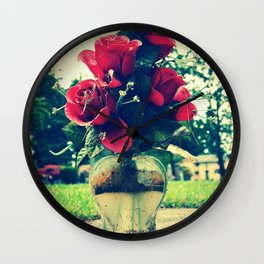 In loving memory Wall Clock